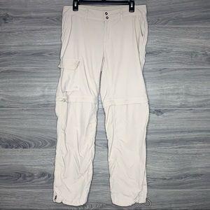 Columbia Palm Peak Convertible Pants Size 10 Short